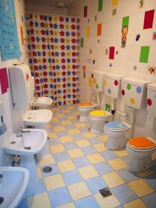 WC crianças